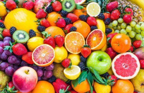 Цитрусовые и ягоды
