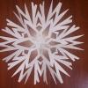 Как вырезать снежинки: самый простой способ