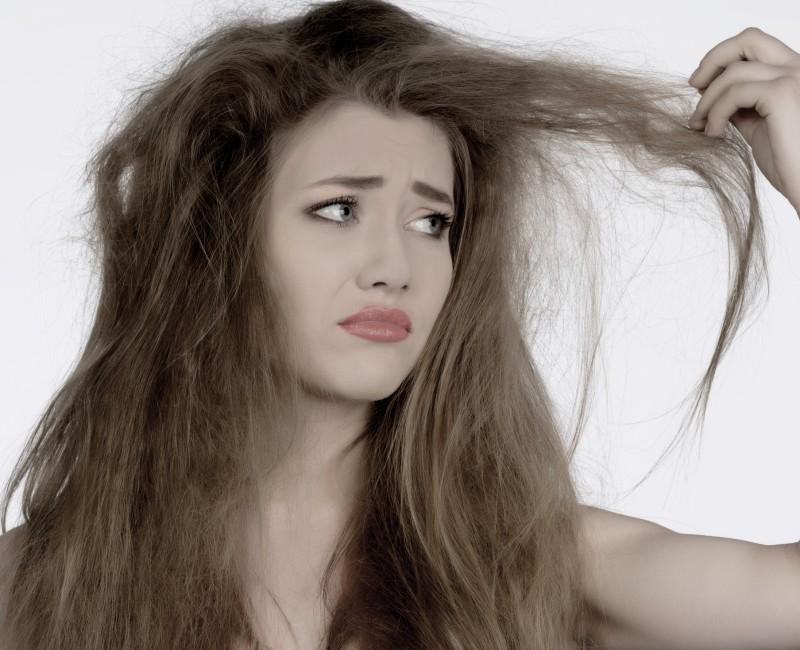 знаете чтою волосы не были сухими смерти