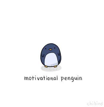 мотивирующий пингвин