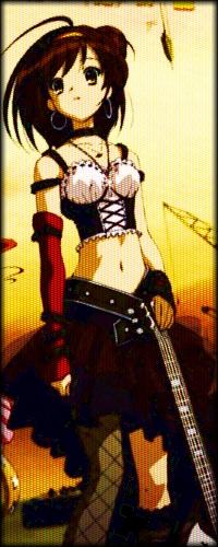 Харухи Судзумия подойдет для аватарки активным, веселым и зажигательным девочкам. Она всегда придумает любое развлечение для друзей. Этот персонаж привык привлекать к себе внимание и быть в центре всех событий.
