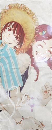 Милый Отани вместе со своей девушкой Рисой подойдет на аву для влюбленного парня. Этот персонаж очень искренен и обладает отличным чувством юмора, всегда может стать душой компании.
