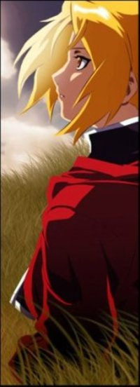 Эдвард Элрик из аниме Стальной алхимик обладает невероятной смелостью и целеустремленностью. Он готов становиться сильнее для воплощения своей мечты.