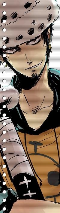Трафальгар Ло из аниме Ван Пис покорит всех своей смелостью и боевыми навыками.