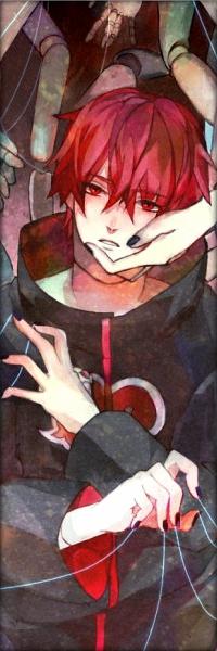 Сасори Акасуна подойдет для аватарки всем фанатам аниме Наруто.