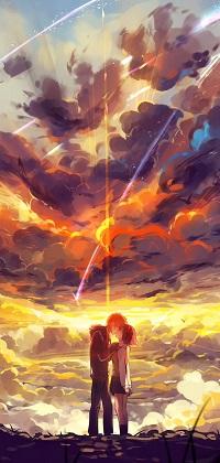 Таки Тачибана из аниме Твое имя подойдет мужественным, искренним и влюбленным парням.