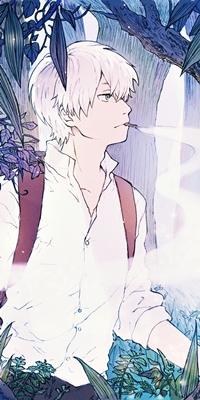 Гинко-сан из аниме Мастер Муши подойдет для мечтательных и начитанных путешественников. Он знает ответ на любой вопрос и готов прийти каждому на помощь.