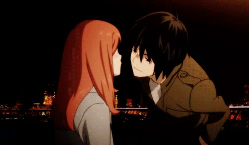 GIFs Anime Kisses: Passionate & Romantic Collection