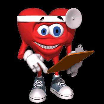 Гифка для презентации сердце - доктор