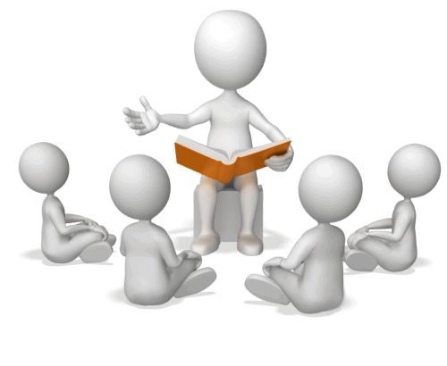 Гифка для презентации читают сказки