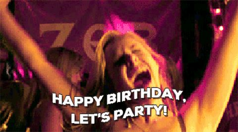 "GIFs ""Happy Birthday"". Really Large Collection of the Best GIFs."