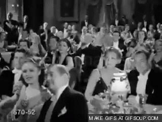 """Гифки """"Аплодисменты"""". Отборные GIF-анимации рукоплескания"""