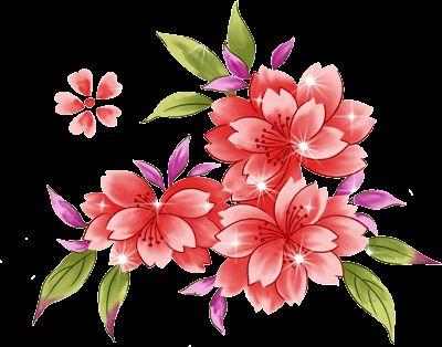 гифка рисунок цветов
