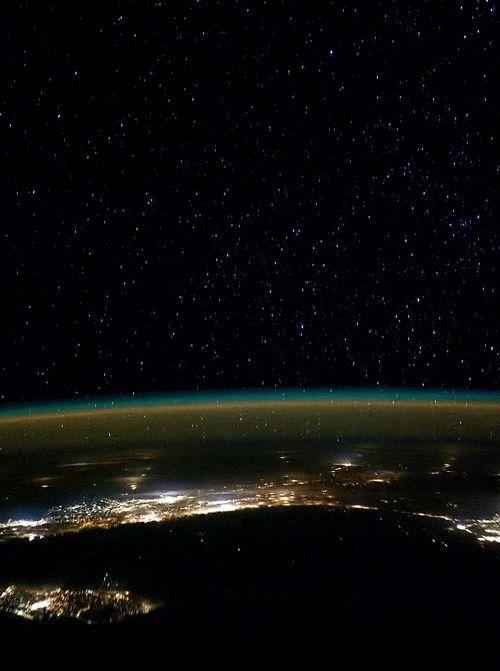 Ещё один полет над нашей родной планетой