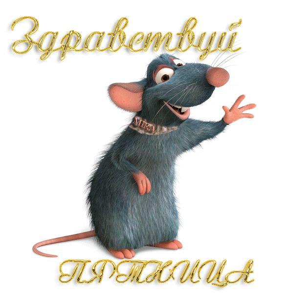 Гифка пятница с мышью