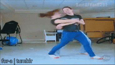 Гифка танцуют люди рок н ролл карате
