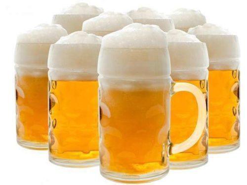 Пиво с пенной