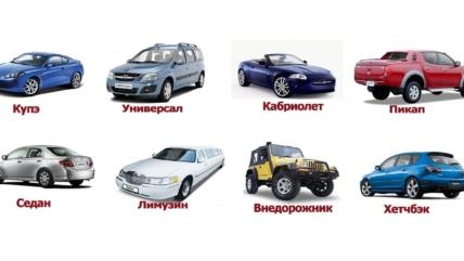 В чём разница между седаном, хэтчбеком, кроссовером и SUV?