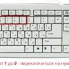 Как переключаться между вкладками с помощью клавиатуры