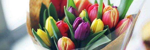 Отличный букет тюльпанов