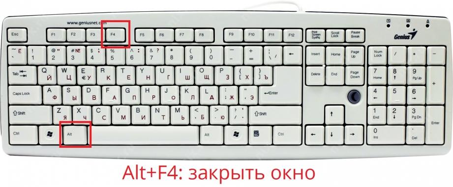 Как свернуть окно на компьютере с помощью клавиатуры