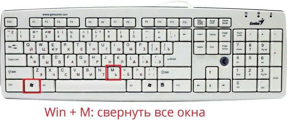 Как закрыть окно с помощью клавиатуры
