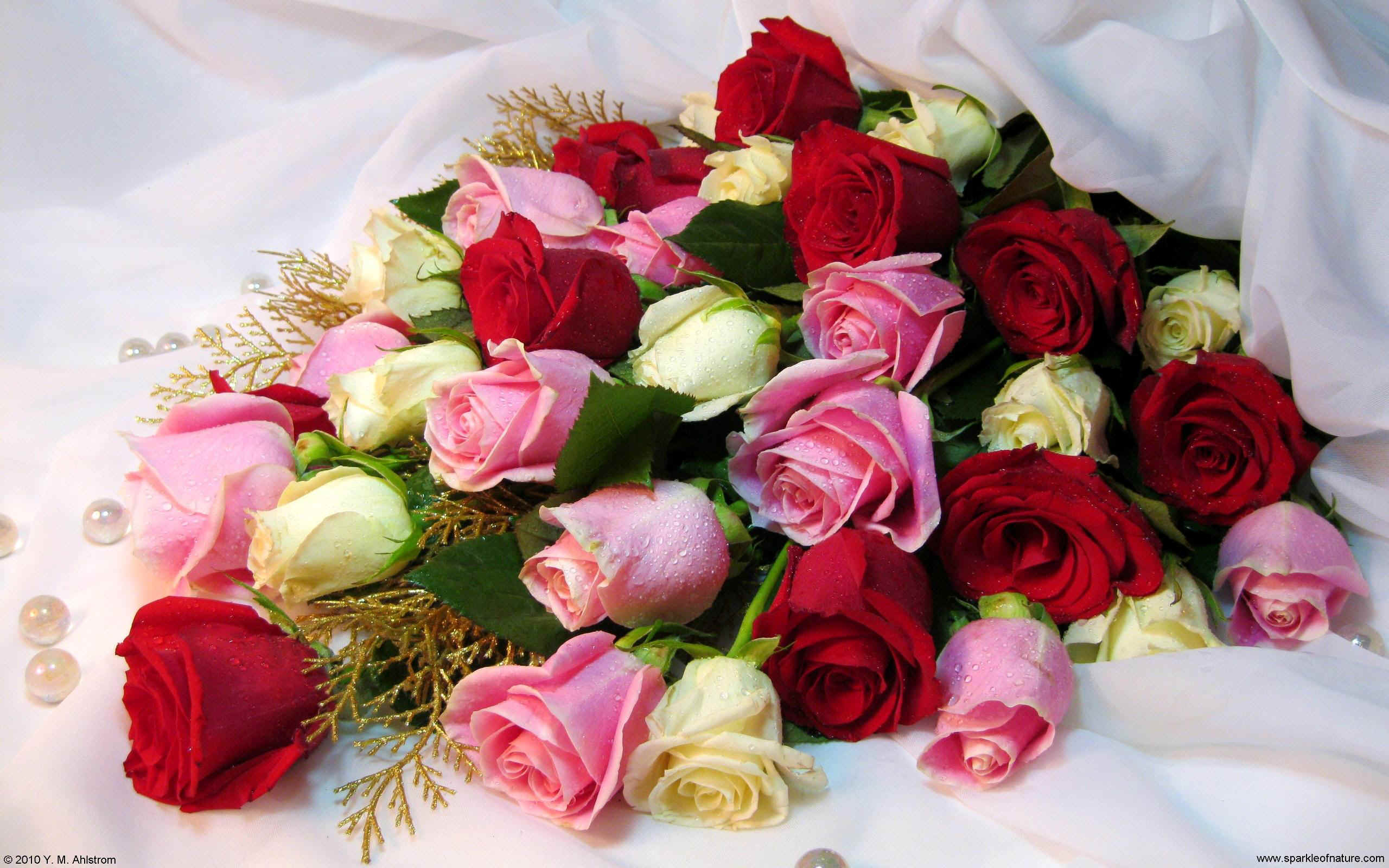 Цветы в чернянке