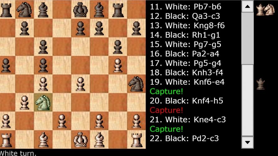 Классические шахматы. Flash игра
