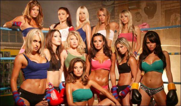Красивые девушки в ринге