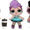Картинки Куклы ЛОЛ для срисовки, 85 шт. Все серии! Лёгкие, сложные