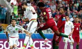 Португалия — Мексика 2 июля 2017 года: обзор матча, видео голов, опасных моментов