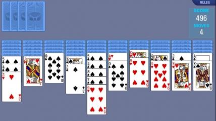 Пасьянс «Паук» — флеш игра. Играть онлайн бесплатно.