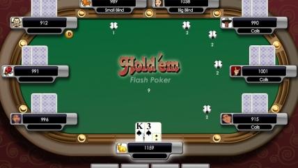Покер «Техасский Холдэм» — flash игра