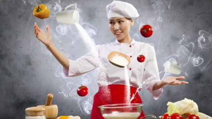 Рецепты в гифках: кулинарные анимации. Большая коллекция
