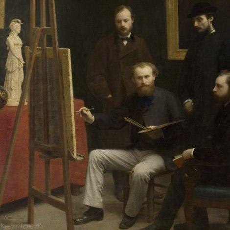Художник рисует плохую картину, а все одобряют