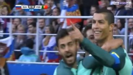 Россия — Португалия 2017: видео гола Роналду в ворота сборной России