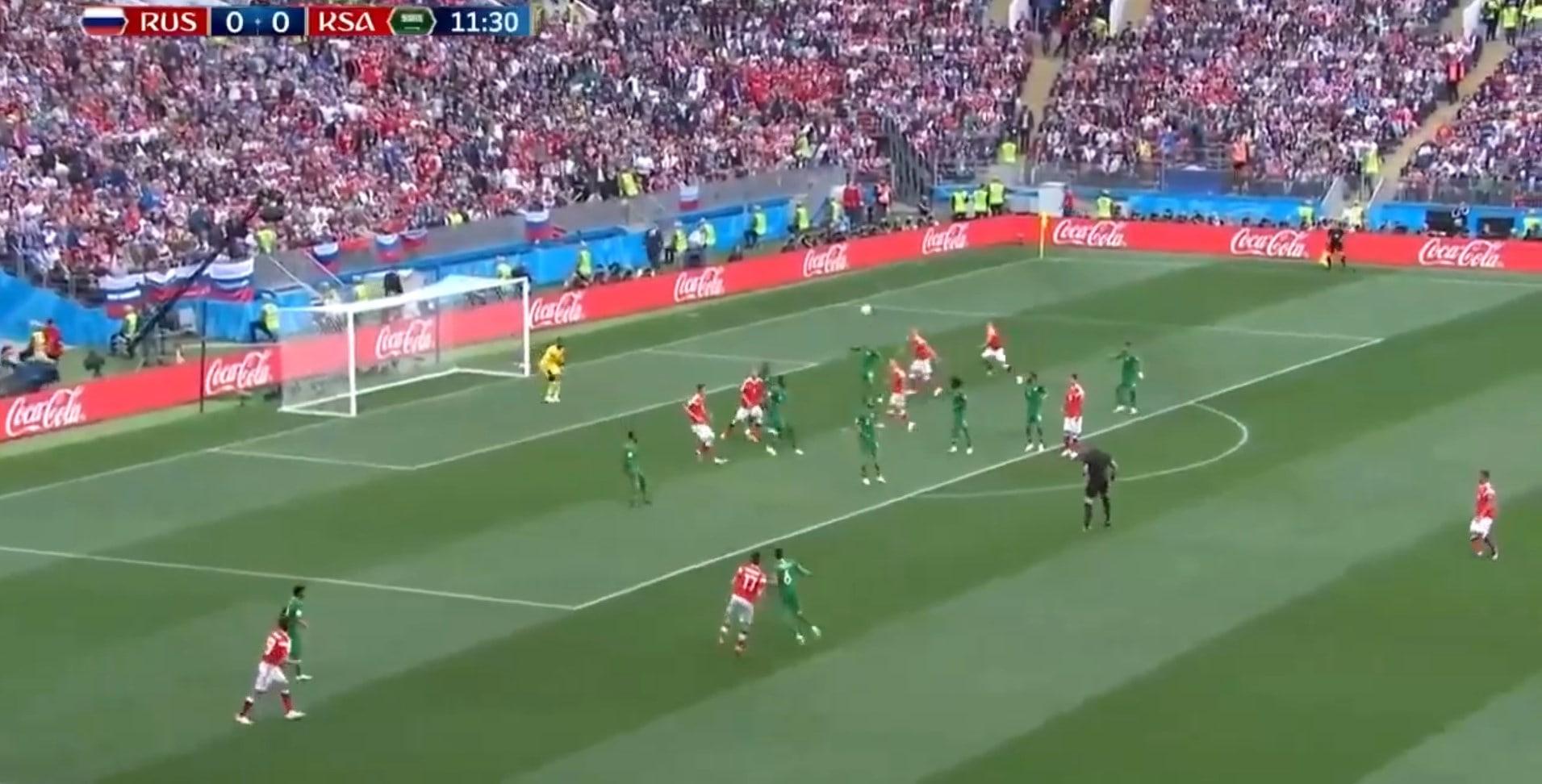 Россия — Саудовская Аравия: Видео голов, лучшие моменты, обзор матча