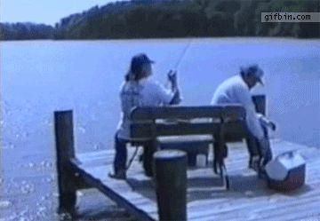 Ржачная гифка рыбалка гуманитариев
