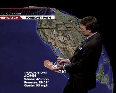 Ржачная гифка прогноз погоды
