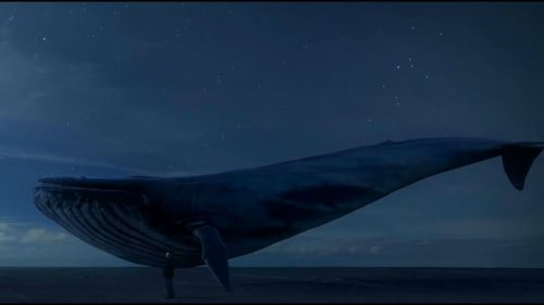 Синий кит сюрреализм