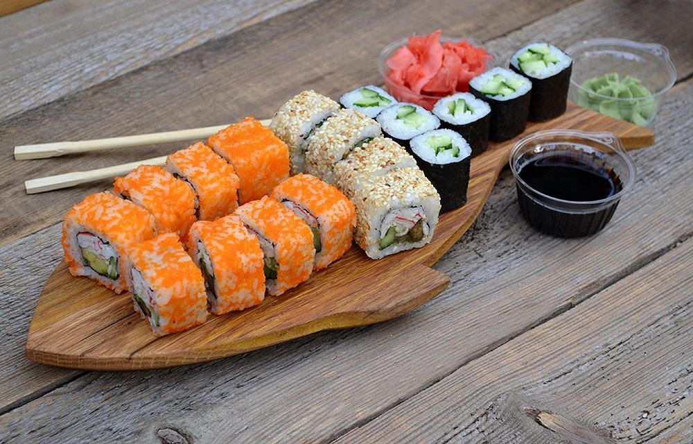 суши и роллы в чем разница