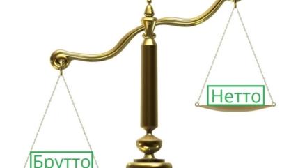 Вес брутто и нетто: в чём разница? Какой вес измеряют?
