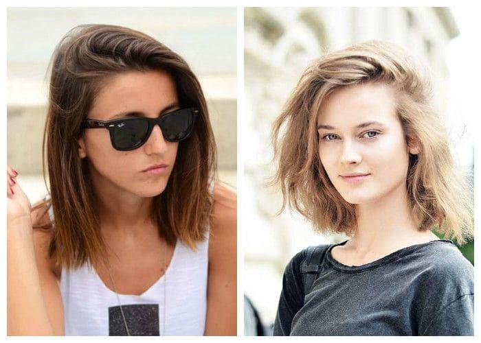 Фото: модные женские стрижки на средние волосы 2018